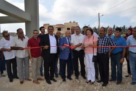 مشروع إفتتاح خزان المياه بتاريخ 09-08-2016 في بلدة أنصارية.